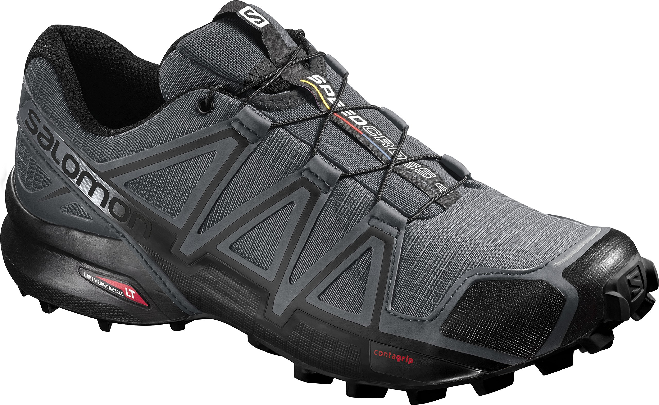 Salomon Men's Speedcross 4 Trail Runner, Dark Cloud, 7 M US by Salomon (Image #15)