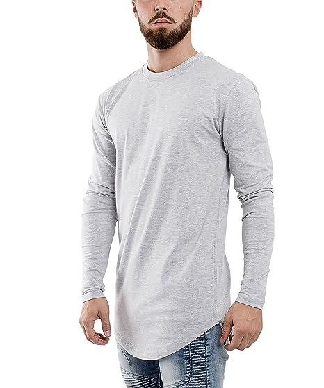 e62693a116ef45 Blackskies Side Zip Langarm T-Shirt
