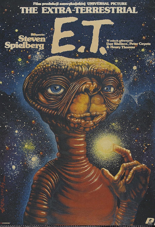 Vintage ET Movie Poster A3//A2//A1 Print