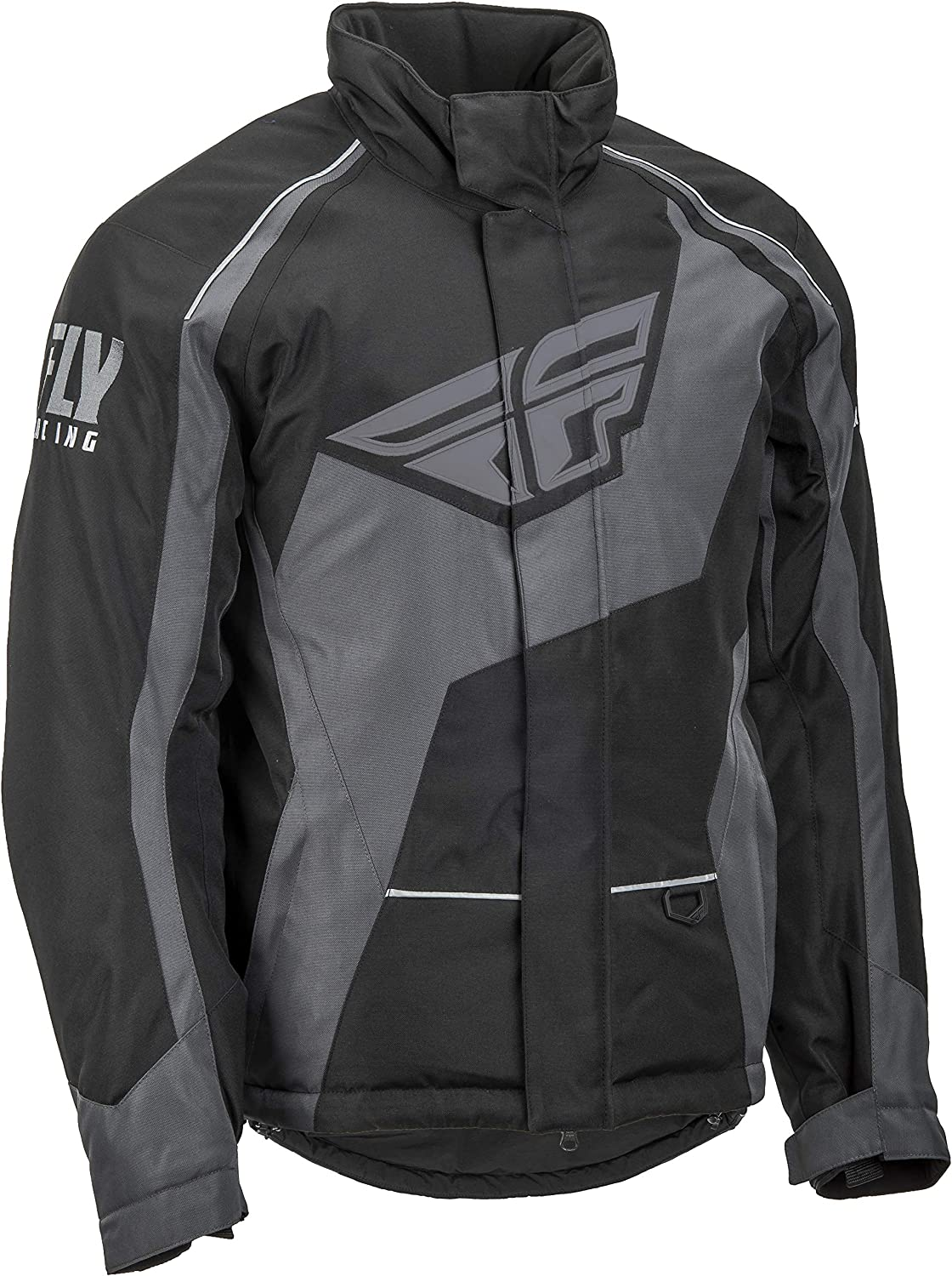 Black//Orange Fly Racing Snowmobile Outpost Jacket Choose Size