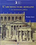 L'architecture romaine volume 1