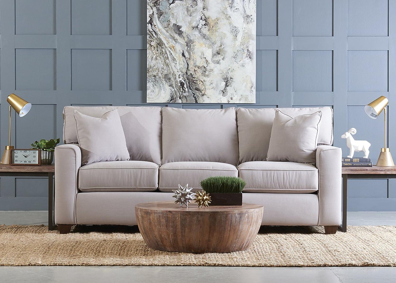 Amazon Com Klaussner Furniture Neyland Sofa With Throw Pillows 87