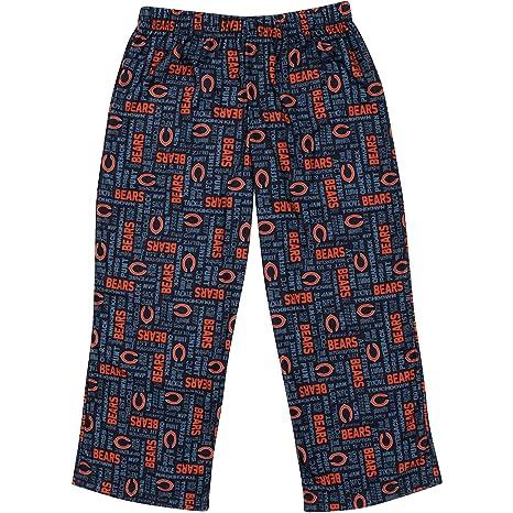 fb225387 NFL Chicago Bears Sleep Pant, 10, Navy/Orange
