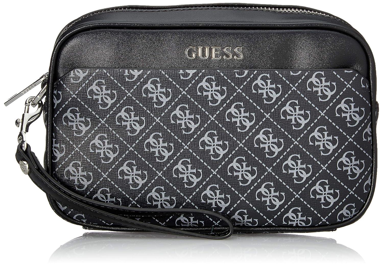 Guess , Beauty Case Uomo nero nero: Amazon.it: Scarpe e borse