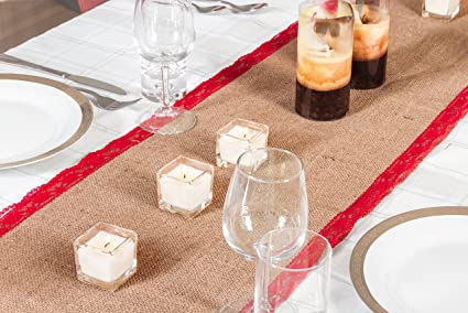 Amazon Com Imperial Home Rustic Christmas Table Runner Or Mantel
