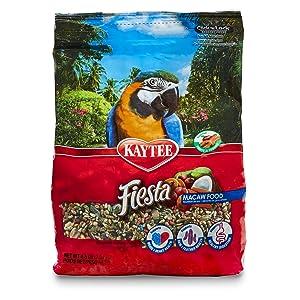 Kaytee Fiesta Macaw Food, 4.5 Ib