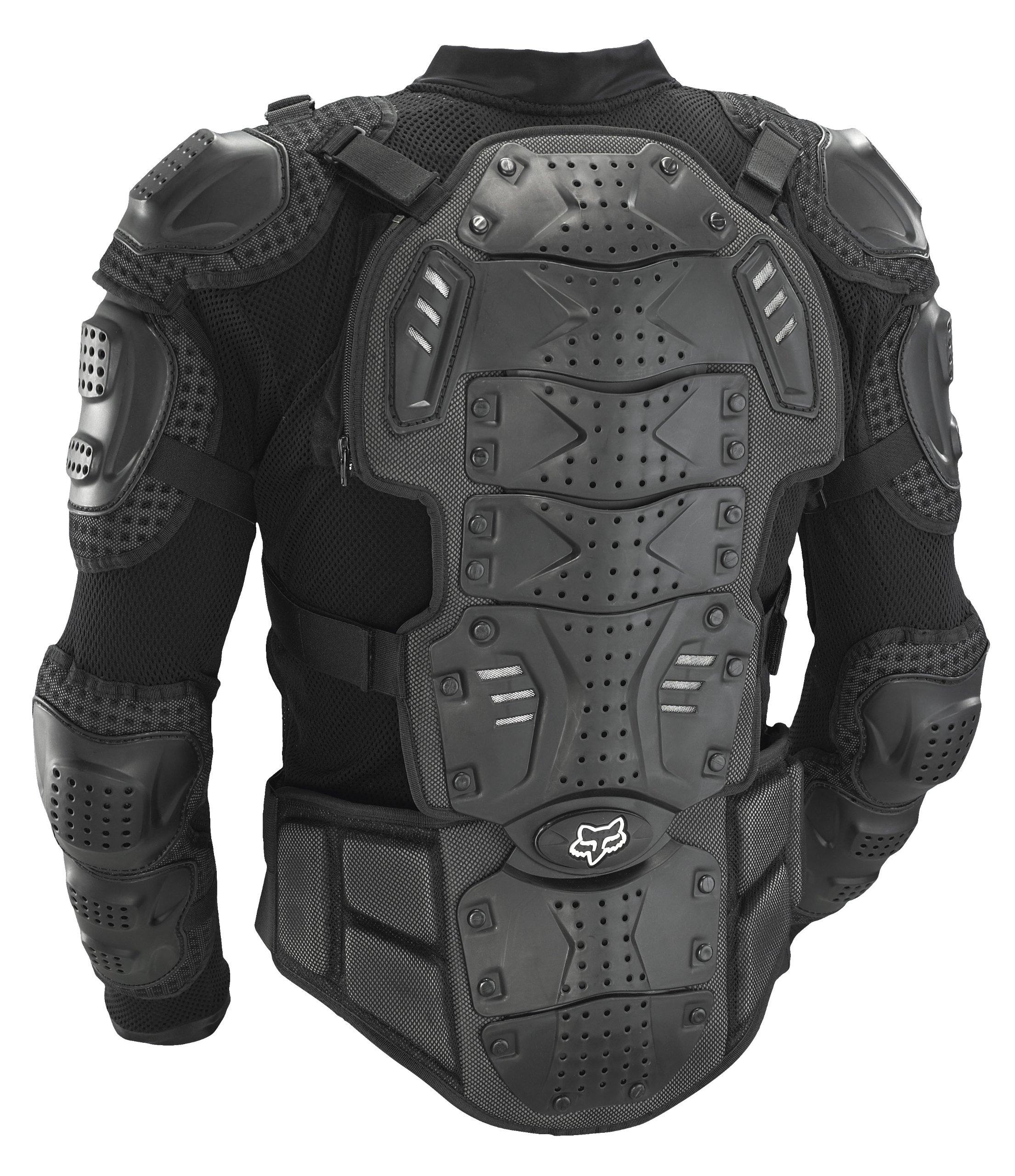 Fox Racing Titan Sport Protective MTB Jacket (Black, Large) by Fox Racing (Image #2)