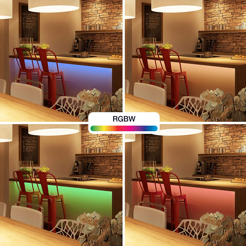 Innr Flex Light Color, Tira LED RGBW 4m, conectada, compatible with Philips Hue* y Echo Plus, FL 130C: Amazon.es: Hogar