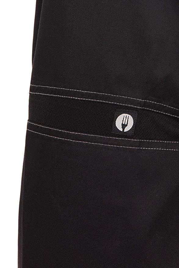 Chef Works Mens Cool Vent Baggy Chef Pants CVBP-P