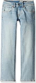 Volcom Boys Big Boys Big Boys' Vorta Slim Fit Stretch Denim Jean