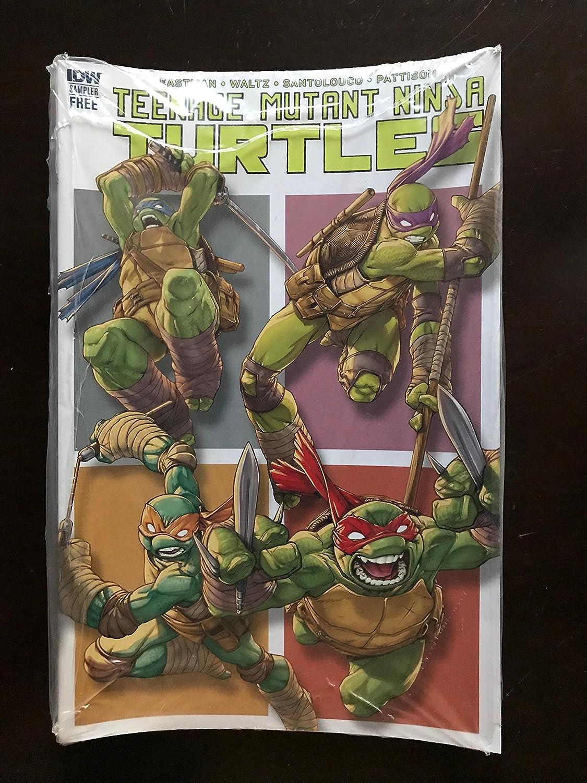 TMNT 2017 #1 IDW Comic Book Sampler Teenage Mutant Ninja ...