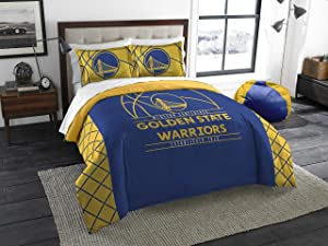 NBA Golden State Warriors Full Comforter and Sham Set, Full/Queen