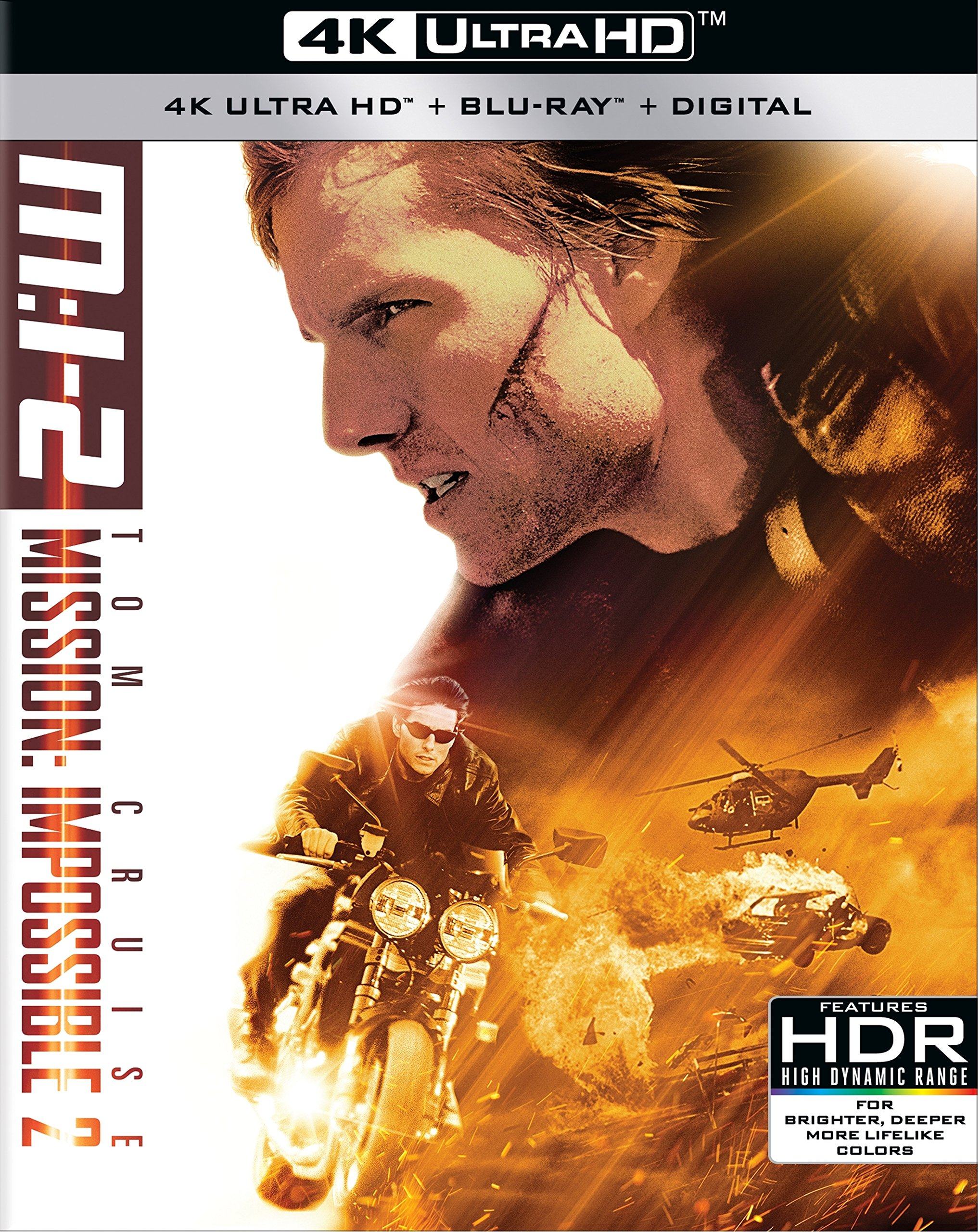 Blu-ray : Mission: Impossible 2 (With Blu-Ray, 4K Mastering, AC-3, 2 Pack, Digital Copy)