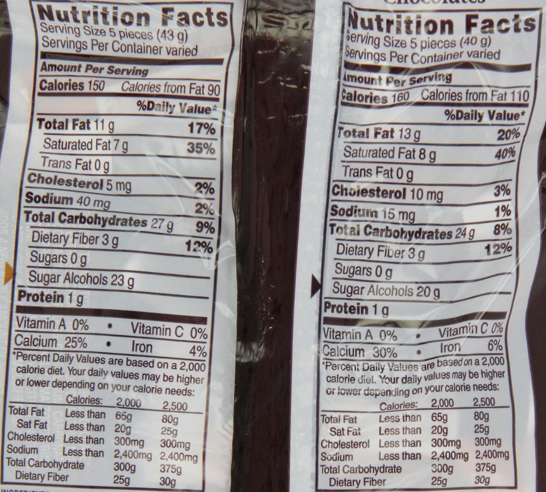 Amazon.com : Hershey's Sugar Free Milk Chocolate And Caramel ...