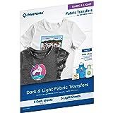PrintWorks Fabric TRANSFERS Variety, Dark/Light