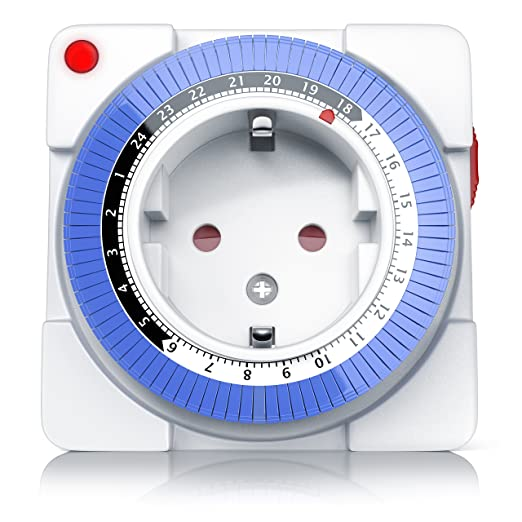 102 opinioni per Arendo- Timer meccanico 24h | 24 Ore