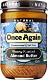 Once Again Nut Butters (C) Almond Btr, Smth, Ns, 16-Ounce
