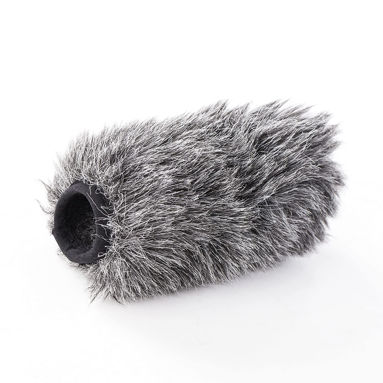 Pare-vent Saramonic en fourrure pour microphone extérieur pour le microphone Saramonic VMIC & VMIC Recorder fusil à fusil VMIC-WS