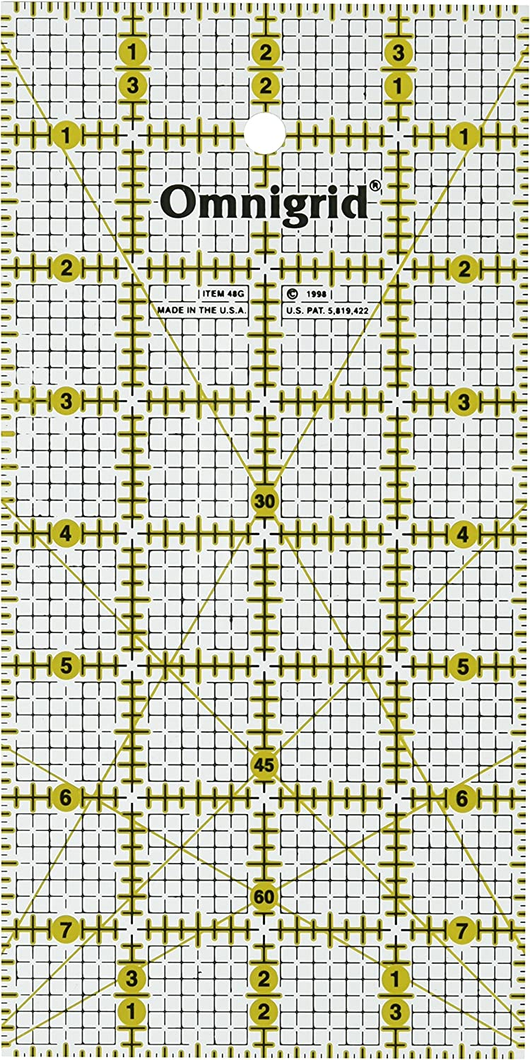 Omnigrid 4-Inch by 14-Inch Quilters Ruler