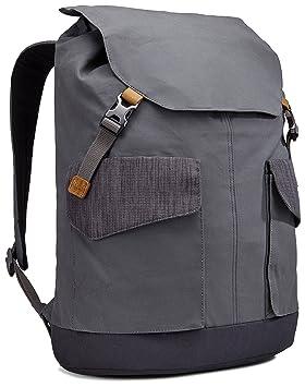 Sac à dos en canevas beige avec compartiment pour PC portable - 7,5 L XCASE