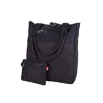 New Balance Unisex Lse Zip Pouch Tote Bag, Black, One Size  Amazon ... a41e69f81d