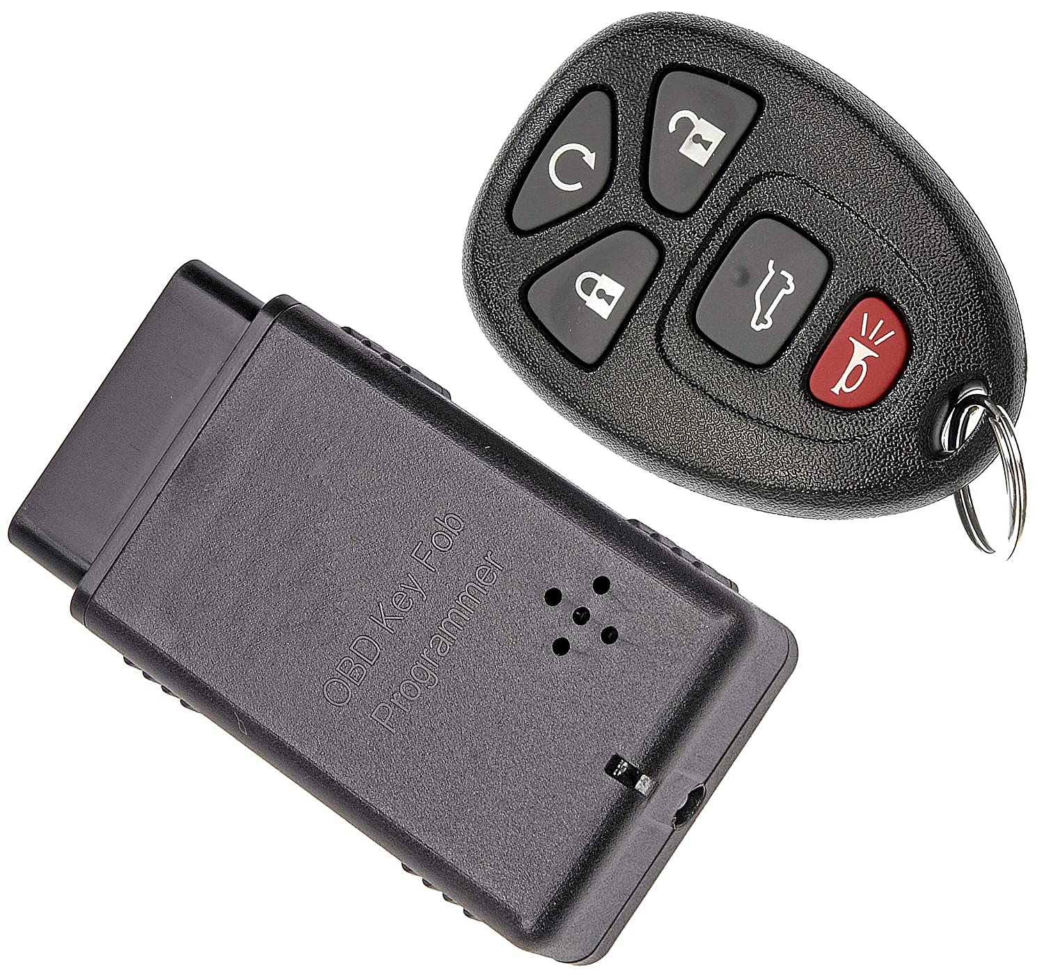 APDTY 121923 Keyless Entry Remote Transponder Key Fob w/Auto Programming  Tool (Fits Models With Auto Start Software