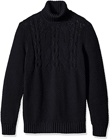 Nautica Mens Turtleneck Sweater At Amazon Mens Clothing Store