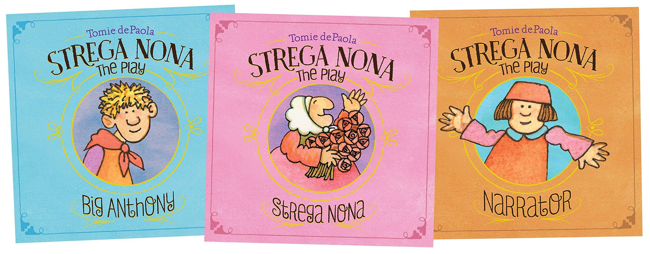 strega nona play set a strega nona book tomie depaola
