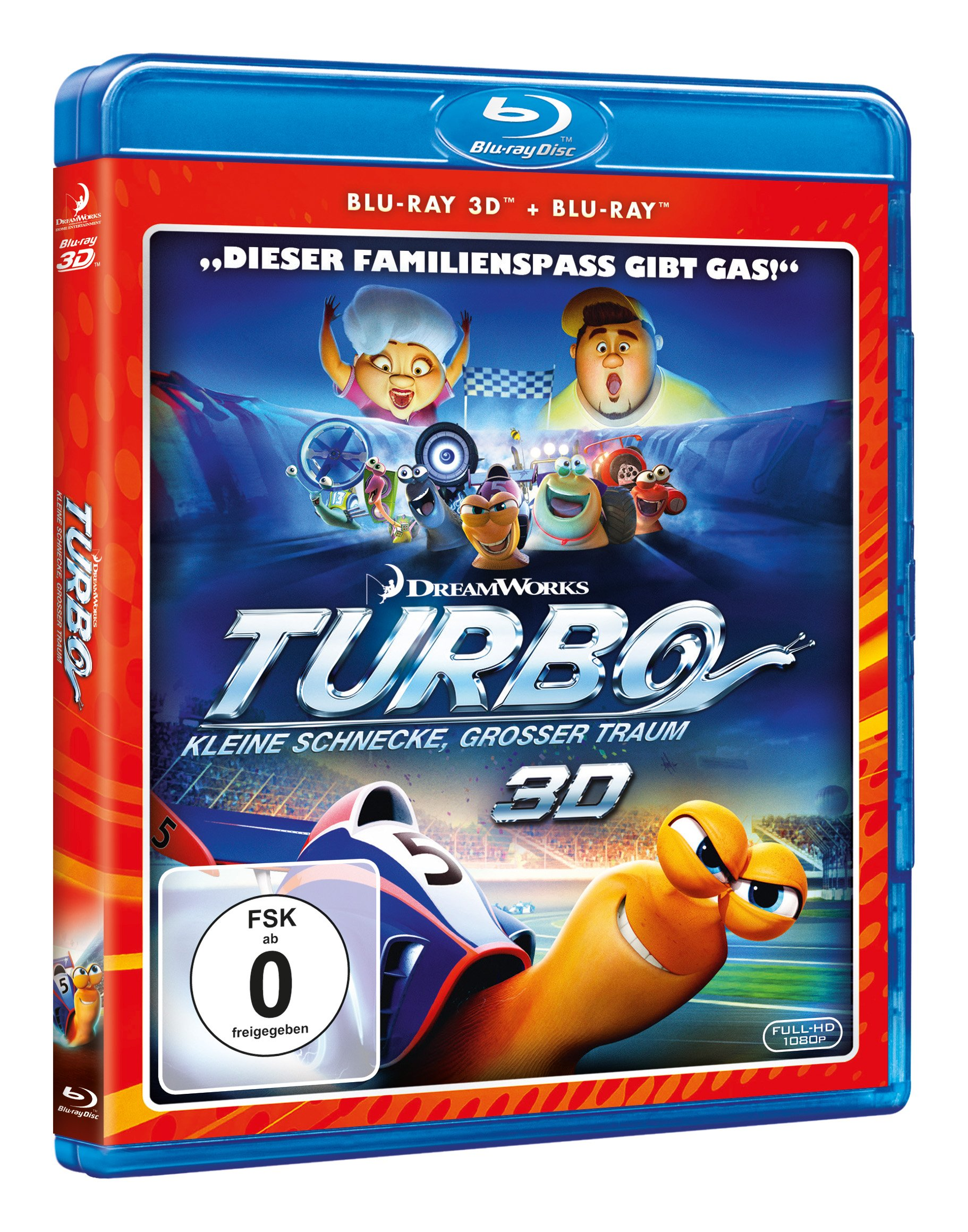 Turbo 3D, 2 Blu-ray (German)
