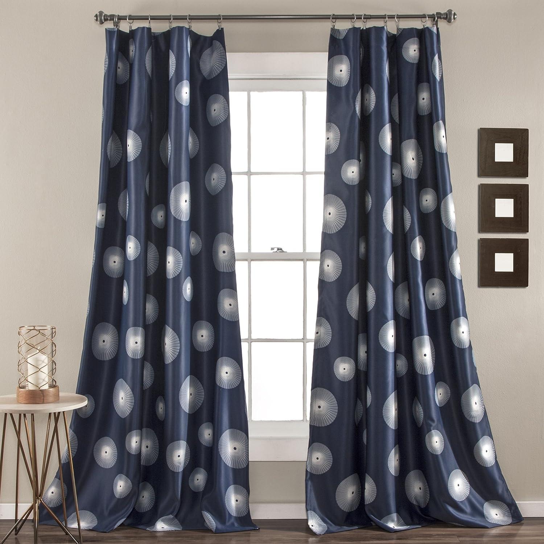 Lush Decor Lush D/écor Ovation Window Curtain Panel Set 84 inch x 52 inch Gray 84 x 52 Gray 84 x 52 Triangle Home Fashions C42182P15-000