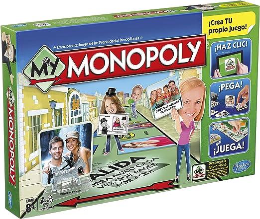 Hasbro Monopoly - My Monopoly A8595: Amazon.es: Juguetes y juegos