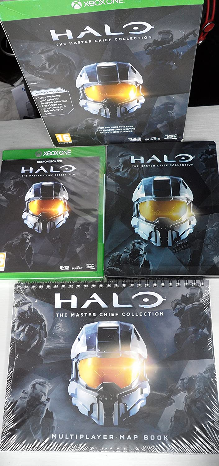 Halo The Master Chief Collection Limited Edition Xbox One