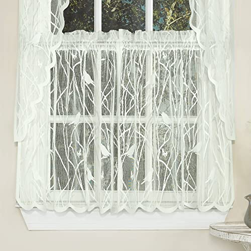 unique window treatments master bedroom sweet home collection kitchen window tier swag or valance curtain treatment in stylish and unique treatment amazoncom