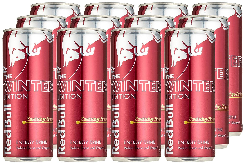 Red Bull Kühlschrank Schweiz : Red bull energy drink zwetschge zimt dosen getränke winter edition