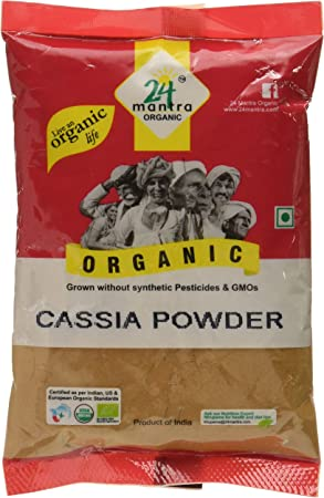 24 Mantra Organic Cassia Powder, 100g