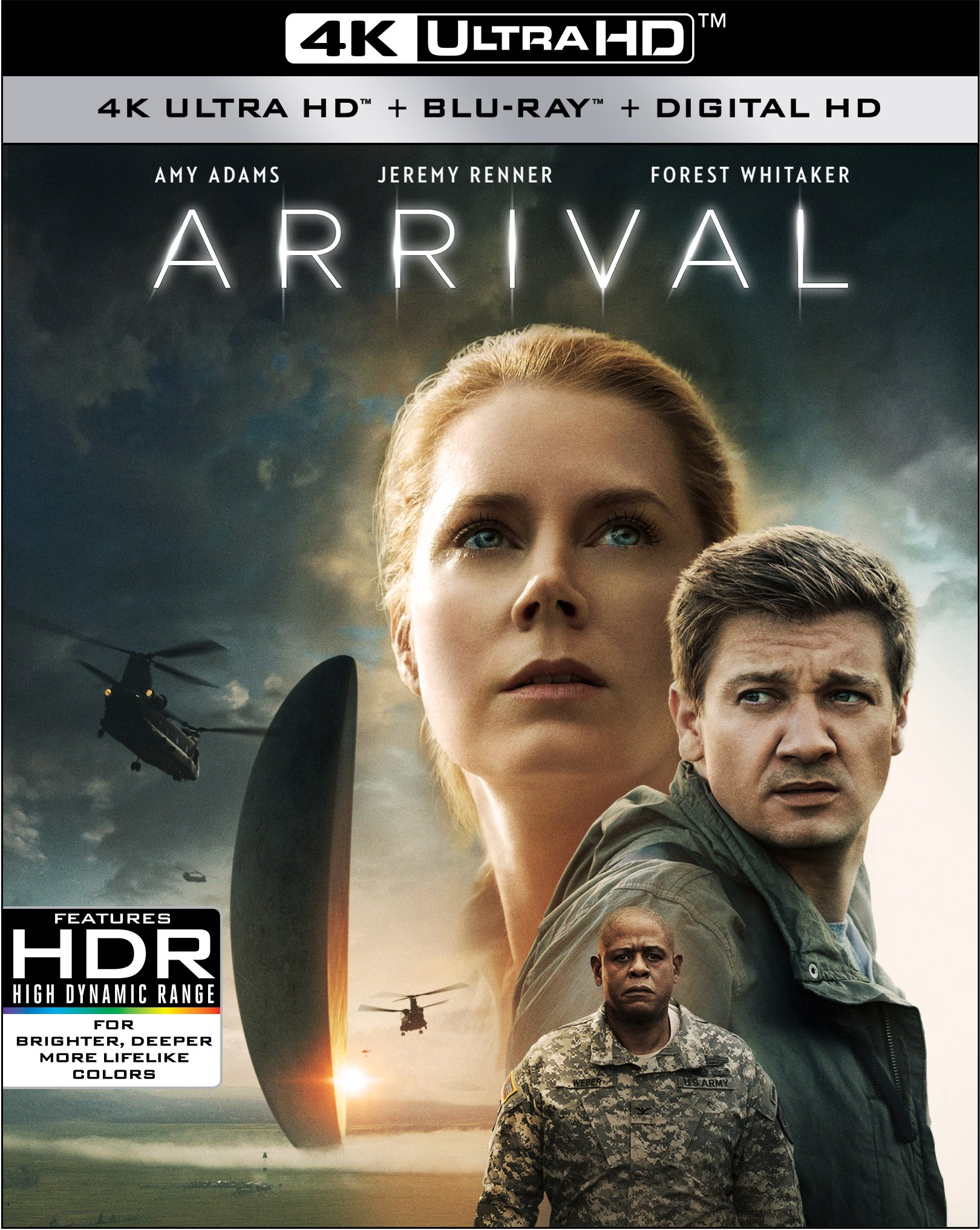 4K Blu-ray : Arrival (With Blu-Ray, Digitally Mastered in HD, 2 Disc)