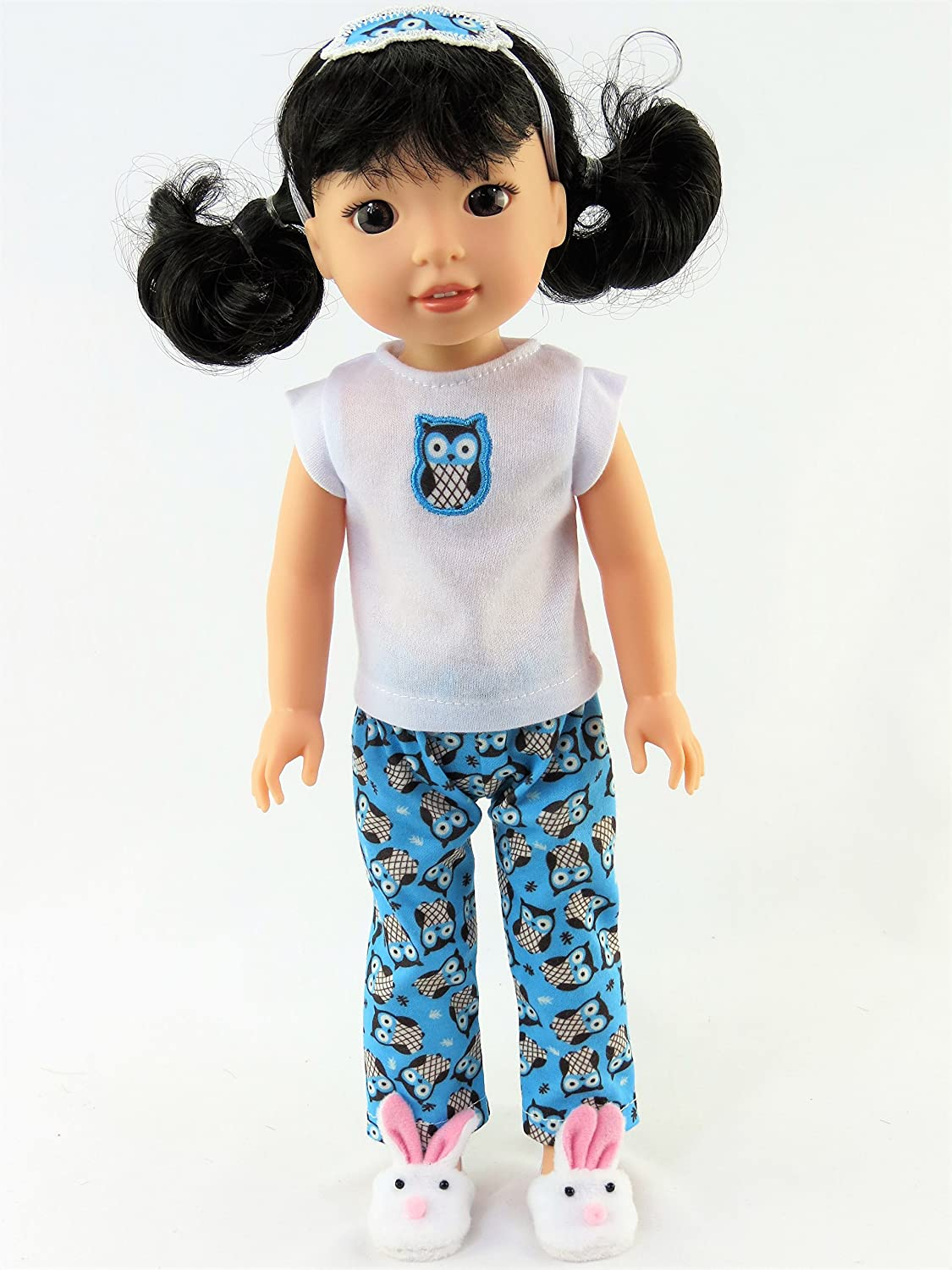 Unicorn Pajamas for Wellie Wisher Dolls 14.5 Inch Doll Clothes