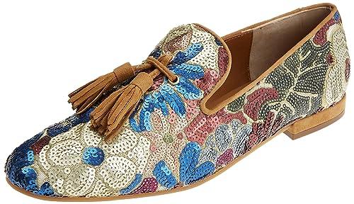 Pedro Miralles 18037, Mocasines (Loafer) para Mujer, Morado (Viola) 38 EU: Amazon.es: Zapatos y complementos