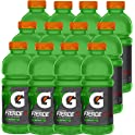 12-Pack Gatorade Fierce Green Apple, 20 Ounce Bottles