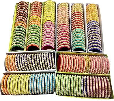 Buy Silk Thread Set Of 200 Bangles For Return Gifts For Any