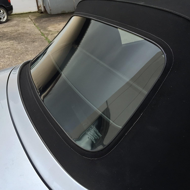 BMW Z3 Cabrio Heckscheibe mit Reißverschluss Premium Heckscheibe