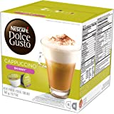 Nescafe Dolce Gusto for Nescafe Dolce Gusto Brewers, Skinny Cappuccino, 16 Count (pack of 3)