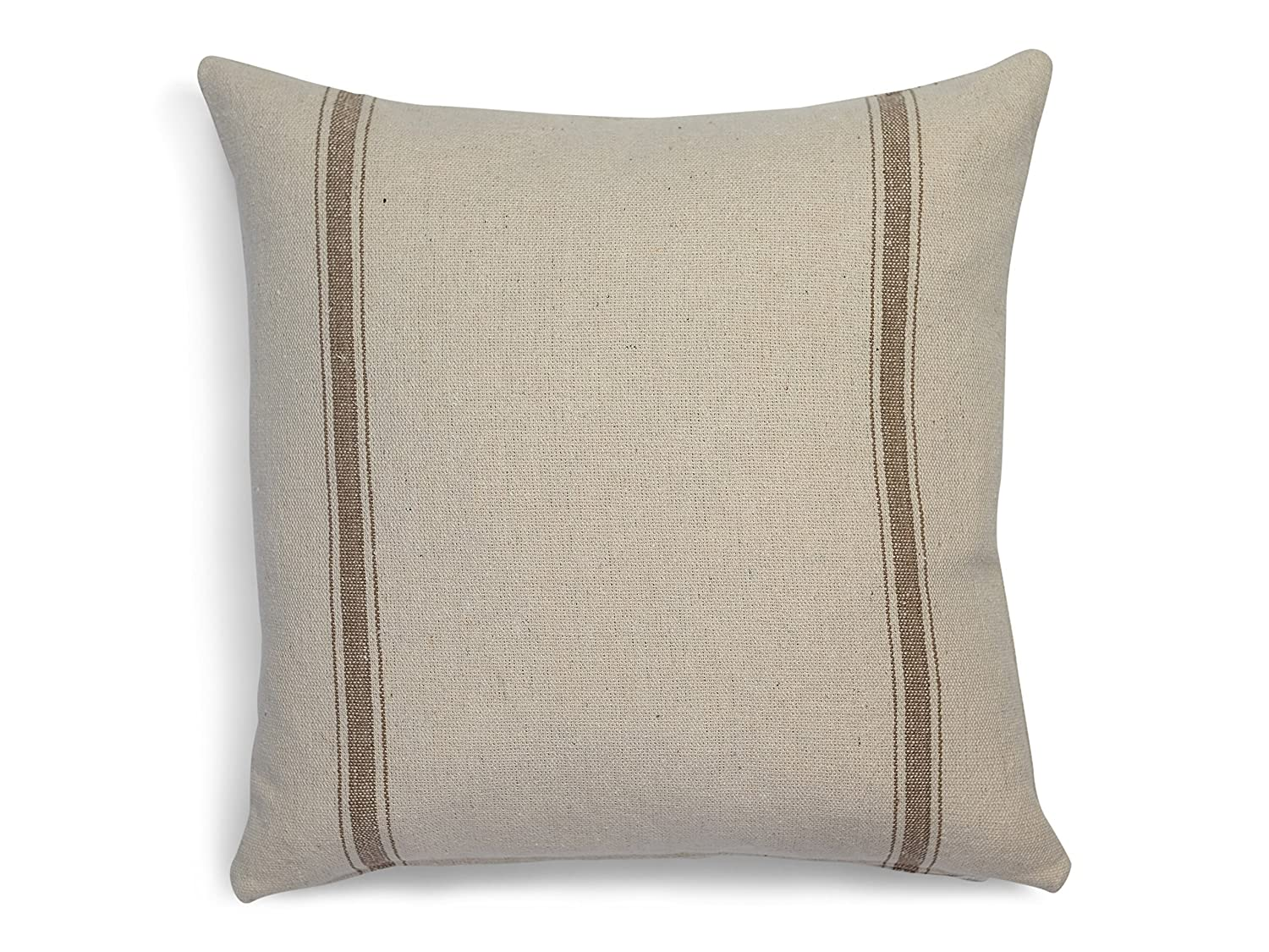 Grain sack Farmhouse Pillow Cover in many sizes