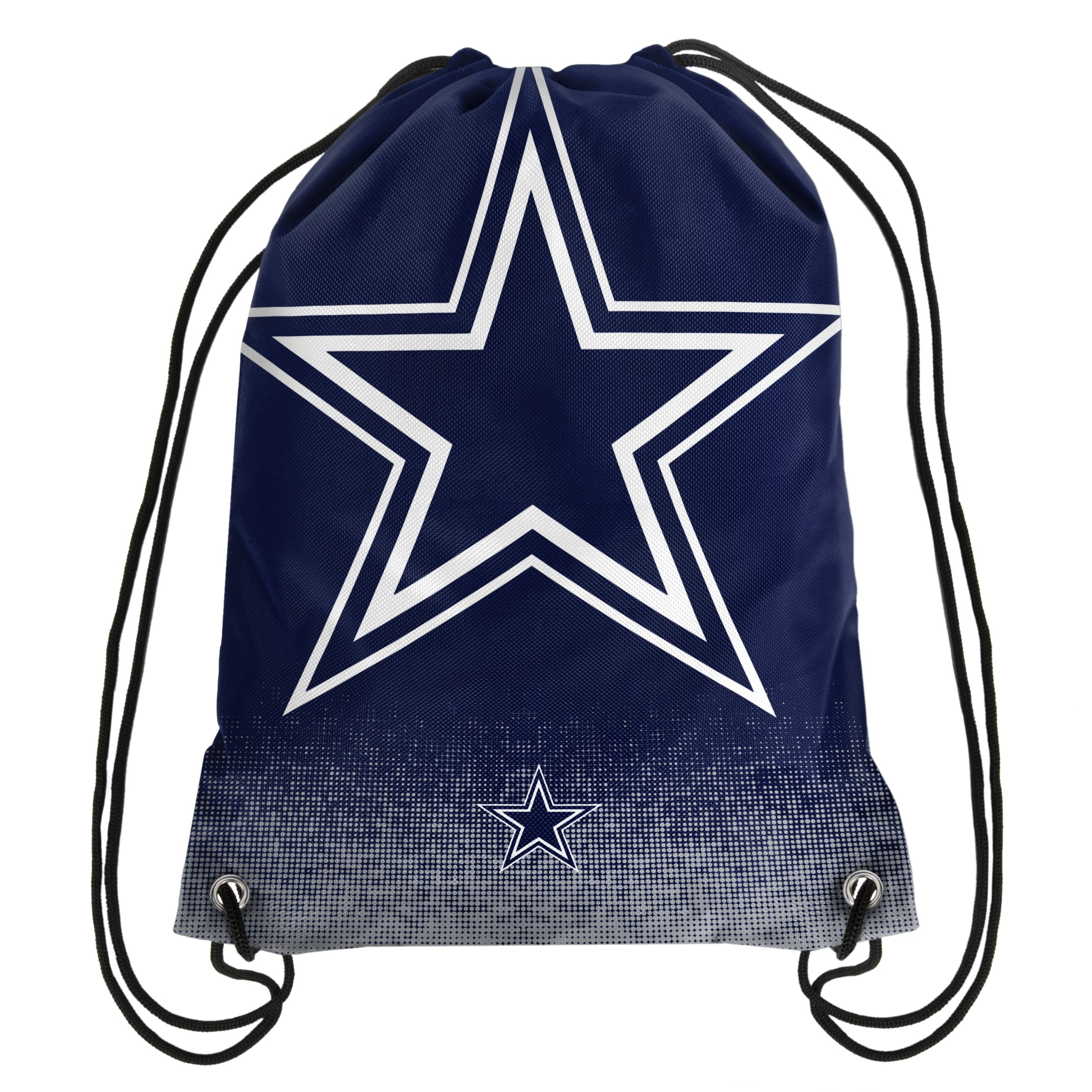 Forever Collectibles NFL Unisex Gradient Drawstring Backpackgradient Drawstring Backpack, Dallas Cowboys, Standard