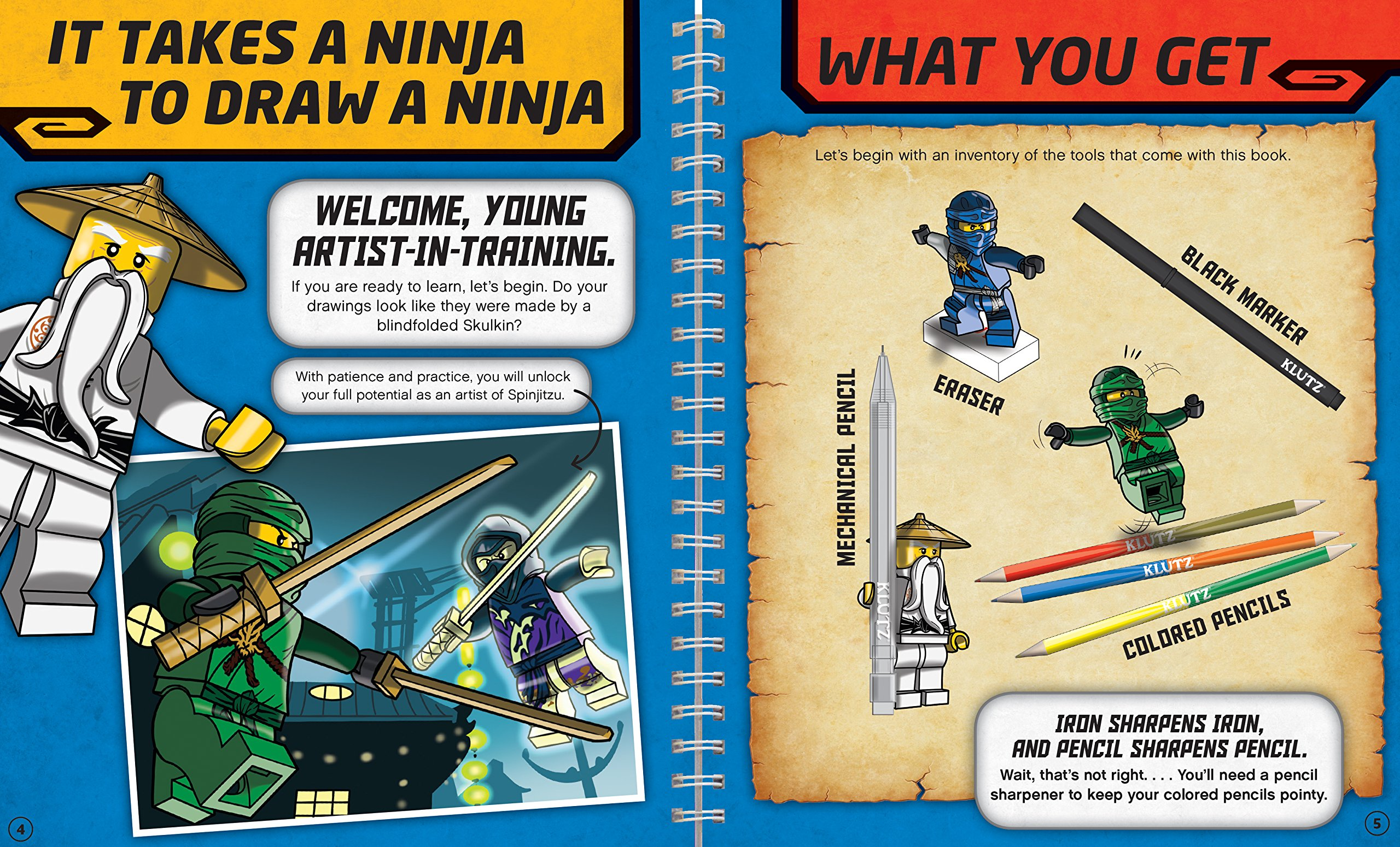 How To Draw Lego Ninjago (Klutz): Amazon.es: Pat Murpfy ...