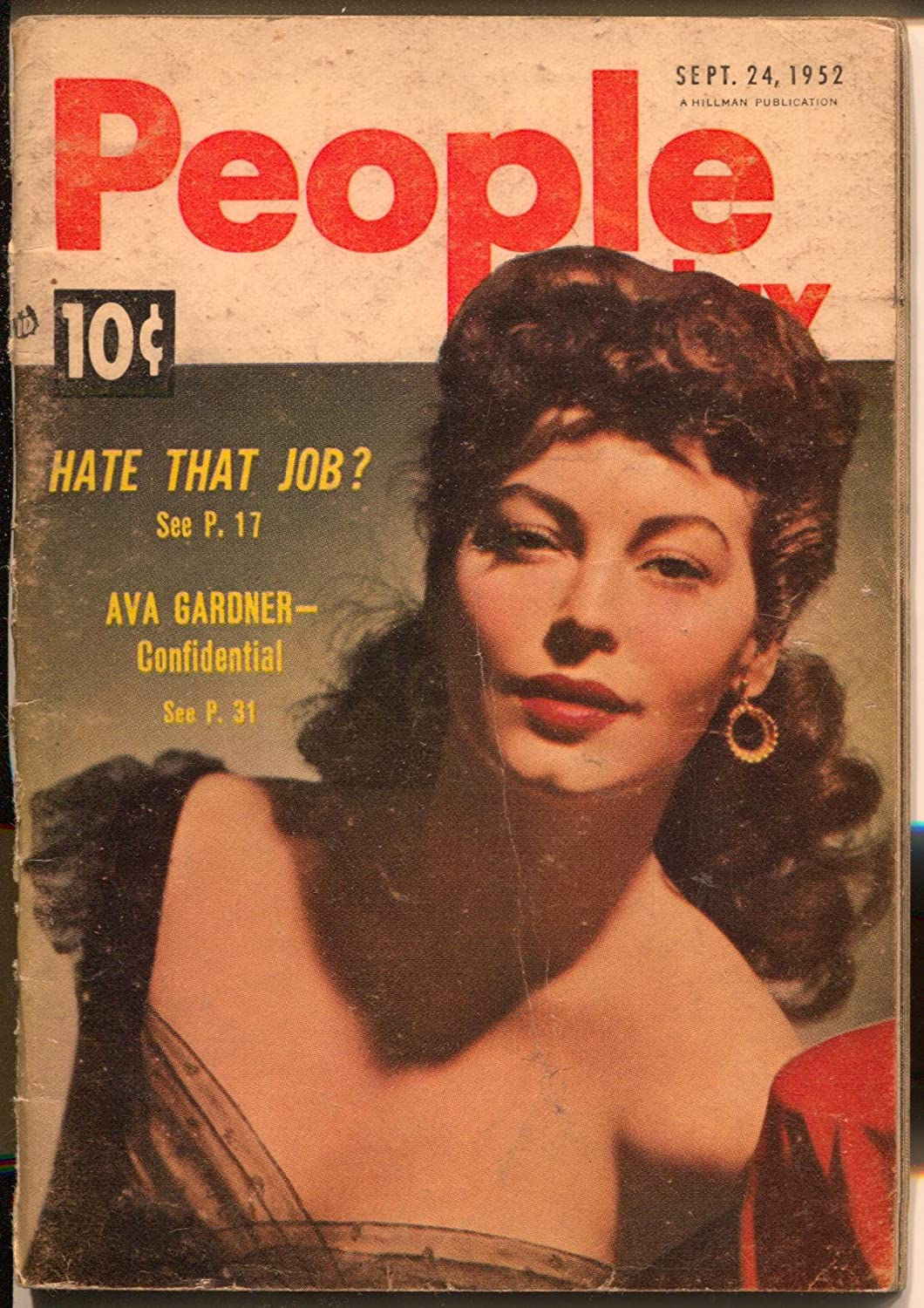 People Today 9/24/1952-Ava Gardner-Gypsy Rose Lee-cheesecake ...
