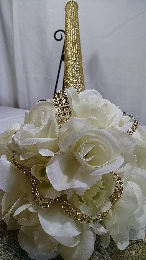 Amazon Com Tajiri 36 Jump Broom For Wedding Jumping The Broom Ceremony Ivory Everything Else