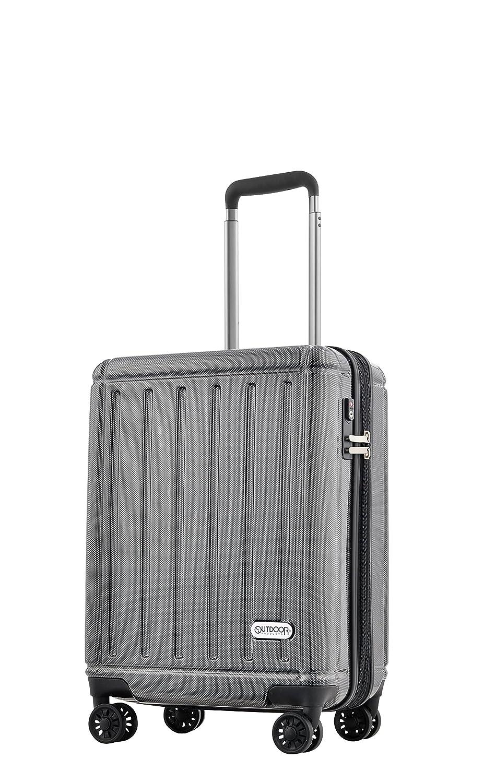 アウトドア スーツケース ハードキャリー 【48.5cm】 OD-0692-48 (OUTDOOR)ブラックカーボン B00P7G3RSE