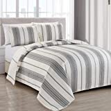 Great Bay Home Modern Bedspread Full/Queen Size
