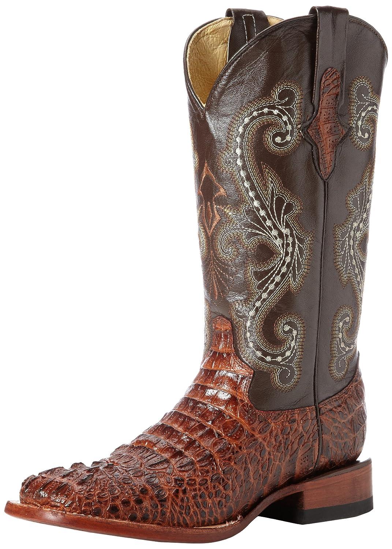 Ferrini Women's Print Crocodile S-Toe Western Boot B00D08KAHC 9.5 B(M) US|Sport Rust